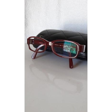 Eyeglass Frames CHANEL Bordeaux