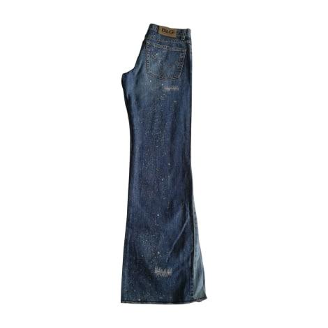 Jeans évasé, boot-cut DOLCE & GABBANA Bleu, bleu marine, bleu turquoise