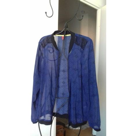 Gilet, cardigan MISS CAPTAIN Bleu, bleu marine, bleu turquoise