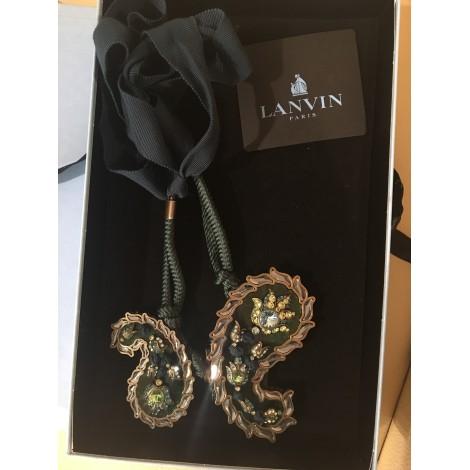 Pendentif, collier pendentif LANVIN Vert