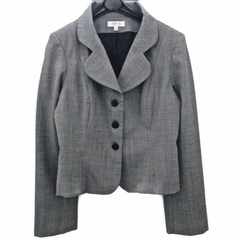 Blazer, veste tailleur 1.2.3 Gris, anthracite