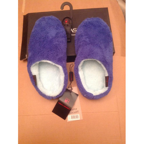 Chaussons & pantoufles PASCAL MORABITO Bleu, bleu marine, bleu turquoise