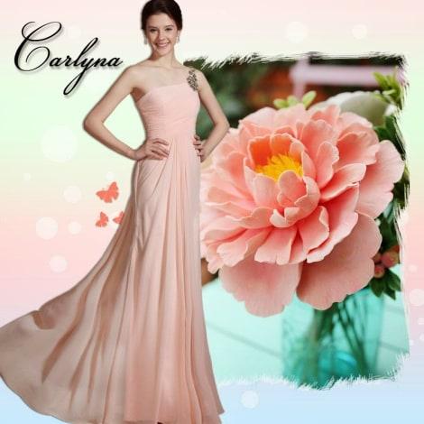 Robe longue EDRESSIT Rose, fuschia, vieux rose