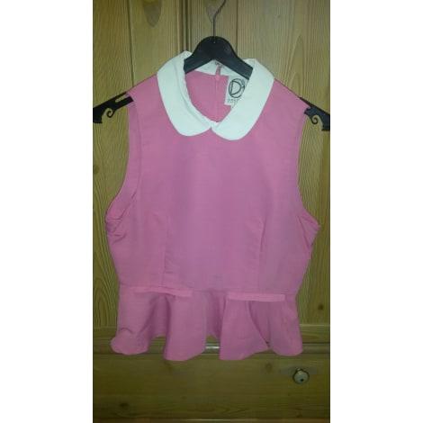 Top, tee-shirt DRESS GALERIES Rose, fuschia, vieux rose