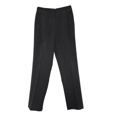 Pantalon droit GERARD DAREL Gris, anthracite