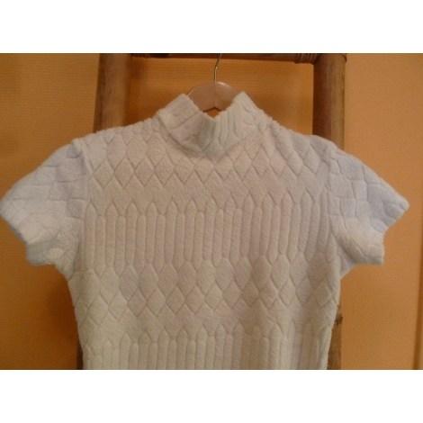 Top, tee-shirt ANNE FONTAINE Blanc, blanc cassé, écru