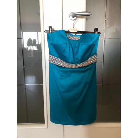 Robe bustier FOREVER UNIQUE Bleu, bleu marine, bleu turquoise
