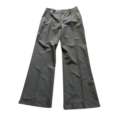 Pantalon large TARA JARMON Gris, anthracite