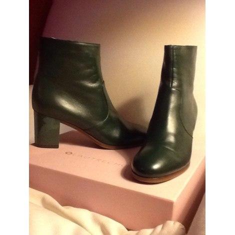 Bottines & low boots à talons L'AUTRE CHOSE Vert