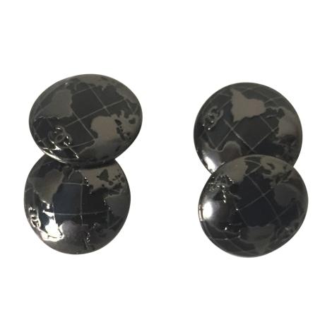 Gemelli CHANEL Argentato, acciaio
