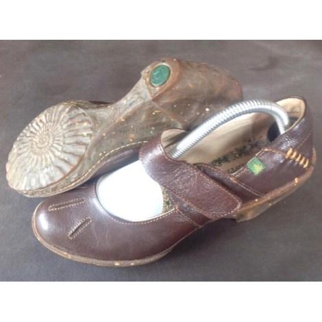 Bottines & low boots à compensés EL NATURALISTA Marron