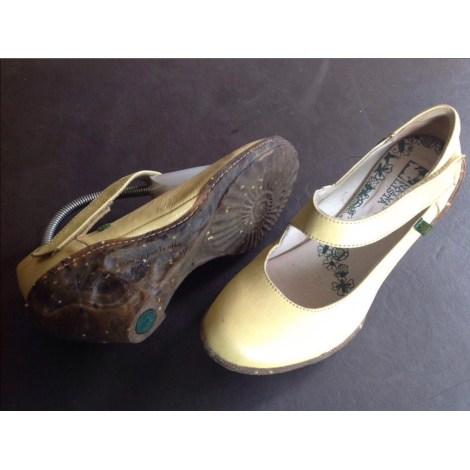 Bottines & low boots à compensés EL NATURALISTA Beige, camel