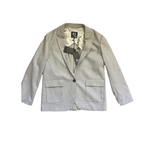 Blazer, veste tailleur ALEXANDER MCQUEEN Gris, anthracite
