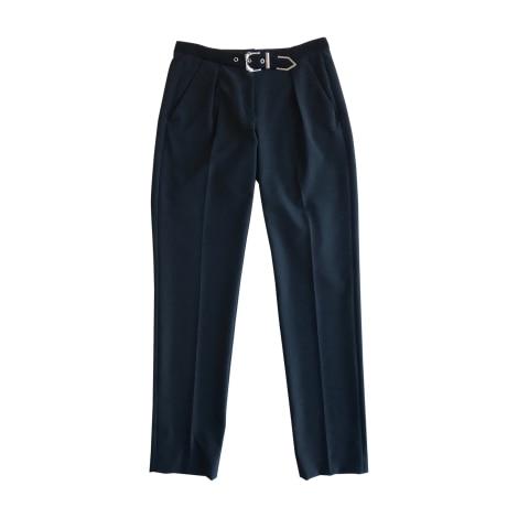 Pantalon droit VERSUS VERSACE Noir