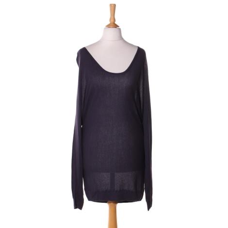 Top, tee-shirt TARA JARMON Violet, mauve, lavande