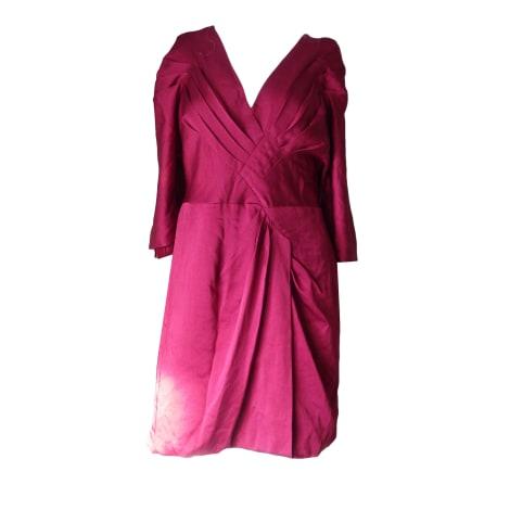 Robe courte BCBG MAX AZRIA Rouge, bordeaux