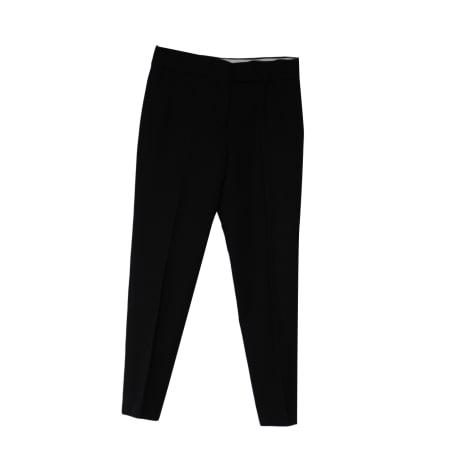 Pantalon droit NICOLE FAHRI Noir