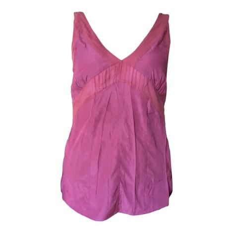 Top, tee-shirt COTÉLAC Rose, fuschia, vieux rose