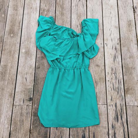 Robe mi-longue BEL AIR Bleu, bleu marine, bleu turquoise