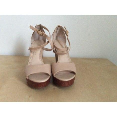 Sandales compensées BANANA REPUBLIC Beige, camel