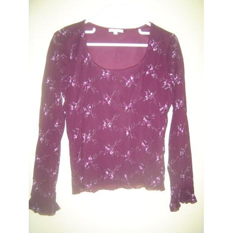 Top, tee-shirt 1.2.3 Violet, mauve, lavande