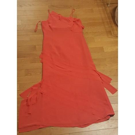 Robe longue D'ORSAY D'OR Orange
