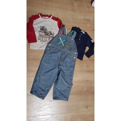Pants Set, Outfit LA COMPAGNIE DES PETITS Blue, navy, turquoise