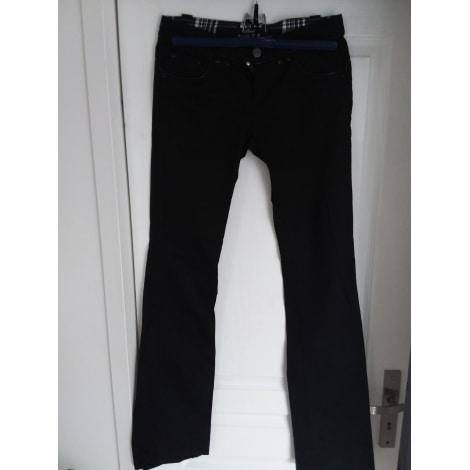 Jeans évasé, boot-cut PHARD Noir