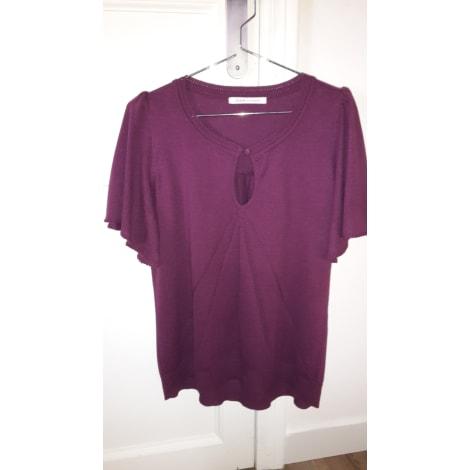 Top, tee-shirt VIRGINIE CASTAWAY Violet, mauve, lavande