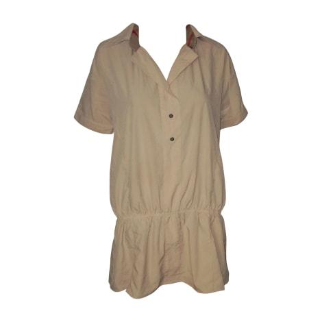 Robe courte BURBERRY Beige, camel