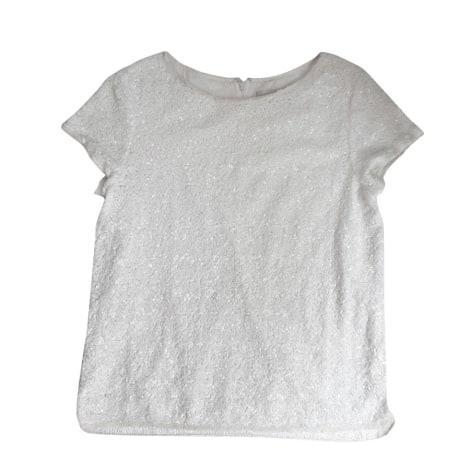 Top, tee-shirt ZADIG & VOLTAIRE Blanc, blanc cassé, écru