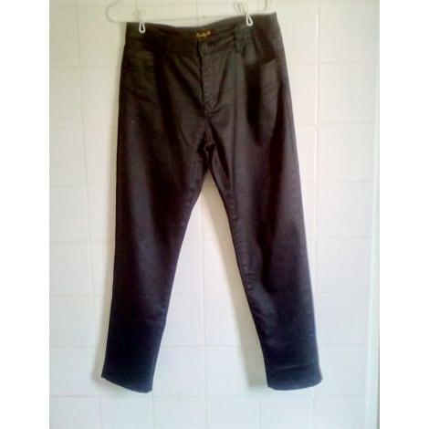 Pantalon droit CINDY H Noir