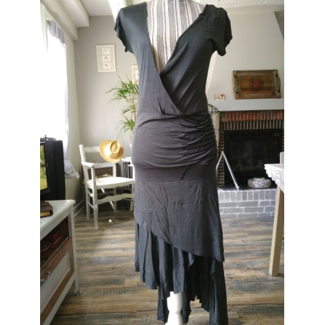 Robe mi-longue RELIGION Gris, anthracite