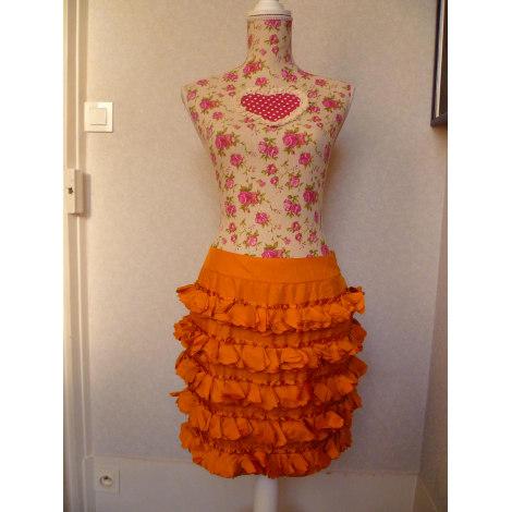 Jupe courte TARA JARMON Orange