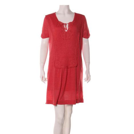Robe tunique COMPTOIR DES COTONNIERS Rose, fuschia, vieux rose