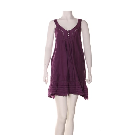 Robe courte SESSUN Violet, mauve, lavande