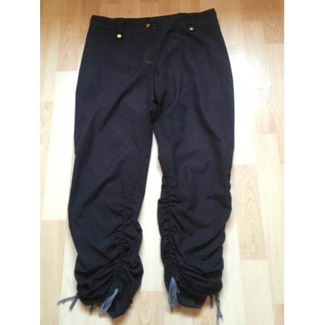 Pantalon droit LA CITY Noir