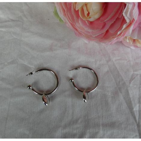 Boucles d'oreille FANTAISIE Argenté, acier