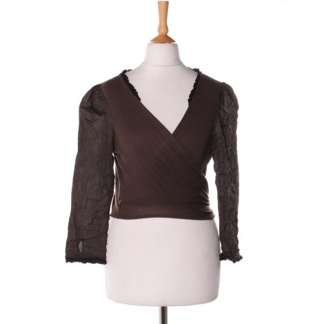 Gilet, cardigan ONE STEP Marron