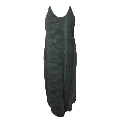 Robe mi-longue DIESEL Kaki