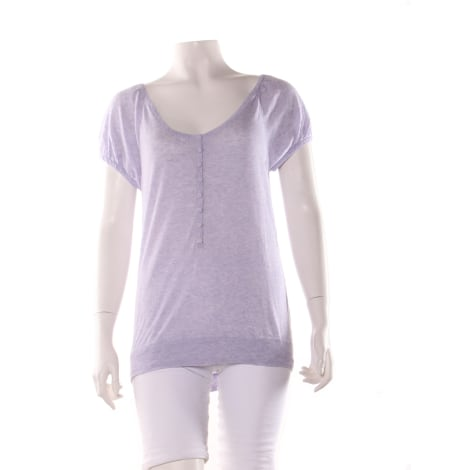 Top, tee-shirt CHATTAWAK Violet, mauve, lavande