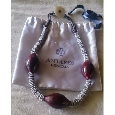 Collier ANTARES VENEZIA Rouge, bordeaux