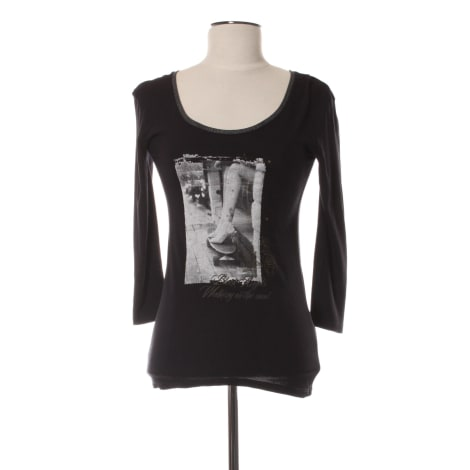 Top, tee-shirt ONE STEP Noir