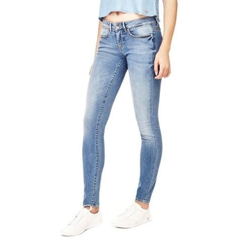 Jeans slim GUESS Bleu, bleu marine, bleu turquoise