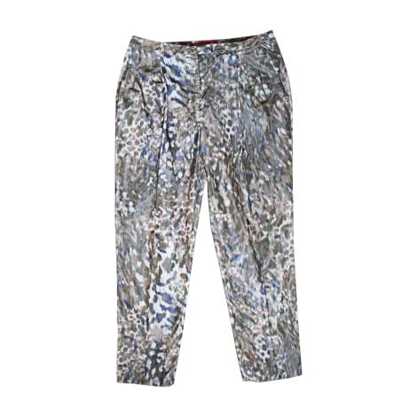 Pantalon droit VIVIENNE WESTWOOD Vert