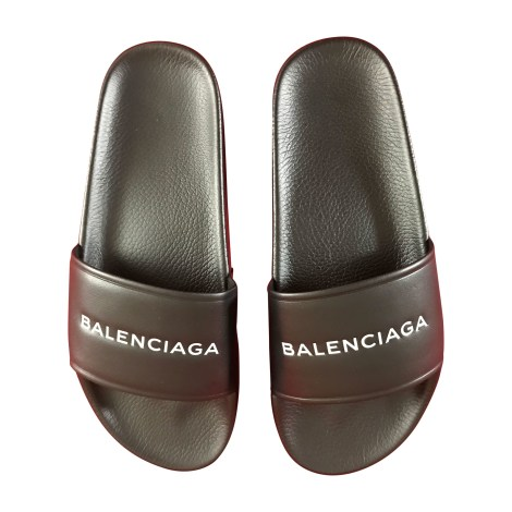 Slippers BALENCIAGA Pool Slide Black