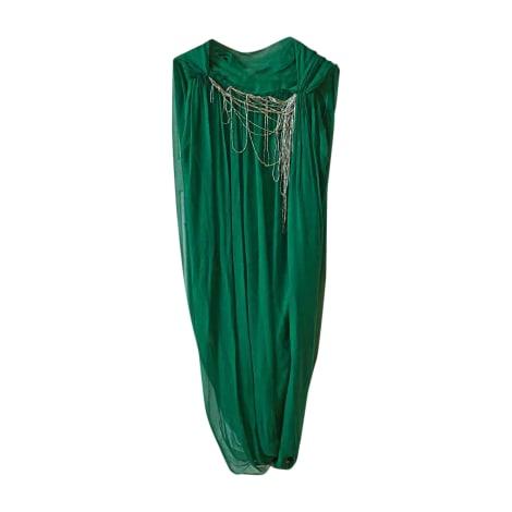 Robe mi-longue LANVIN Vert