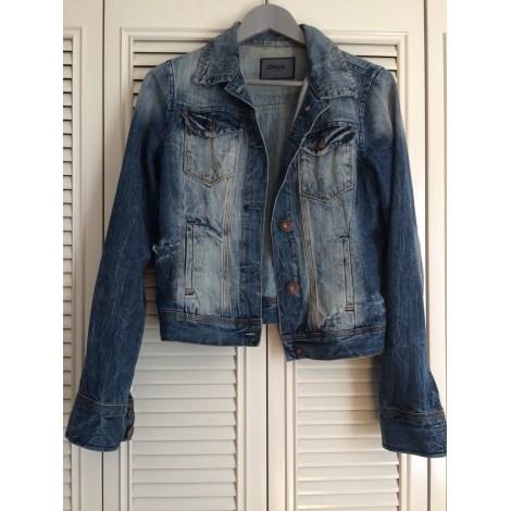Veste en jean ONLY Bleu, bleu marine, bleu turquoise