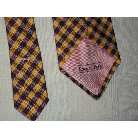 Cravate EDEN PARK Jaune