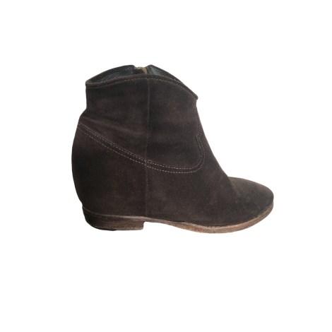 Bottines & low boots à talons LEMARE Marron
